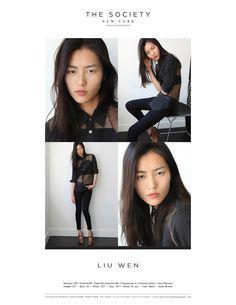 Liu Wen - New Polaroids Liu Wen, Patrick Demarchelier, Jourdan Dunn, Joan Smalls, Siwon, New Model, Supermodels, Beauty Makeup