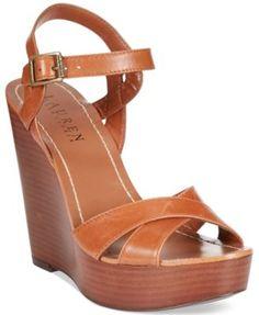 Lauren Ralph Lauren Doreen Wedge Sandals