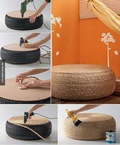 DIY Wohnzimmer Tisch