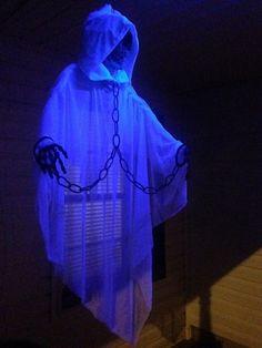 excellent translucent ghost by Halloween Forum member Bigameman