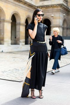 Gilda Ambrosio #GildaAmbrosio | Couture Culture: The Best Street Style from Paris