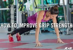 Want to improve grip strength? Try these 8 recommended exercises. #fitness #workout