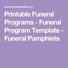 printable funeral programs simple funeral program with elegant script in loving memory template. Black Bedroom Furniture Sets. Home Design Ideas