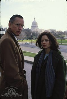 "Jodie Foster and Scott Glenn in ""The Silence of the Lambs"" (1991)"