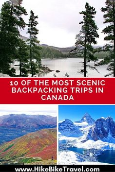 10 of the most scenic backpacking trips in Canada