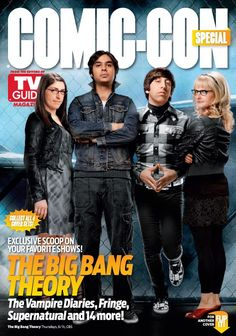 THE BIG BANG THEORY TV Guide - Comic-Con issue