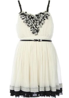 WOW! The details on this dress are stunning...  Petal Delicacy Dress