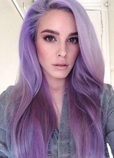 Amazing purple hair sombre ♥ Pinterest : Elisa Gyn #trend #purple #hair