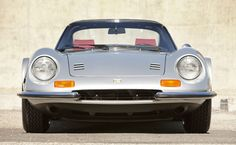 """1974 Ferrari Dino 246 GTS """"Chairs and Flares"""" – 2012 Monterey Auctions - Road & Track"""