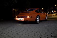 Porsche 964 Carrera RS Night Shot Check out my Instagram: http://instagram.com/pannhorstclassics