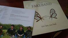 """#ROCK #VINILO #CROWDFUNDING - """"Too Late Too Bad"""", vinilo de la banda de rock de Getxo-Bizkaia, The Fakeband. Crowdfunding Verkami: http://www.verkami.com/projects/9994-queremos-edicion-en-vinilo-de-los-discos-de-fakeband"""