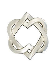 gaelic heart | link is to a door knocker, but the symbol would make an awesome tat! Could make it a ring with a cross woven thru the middle.