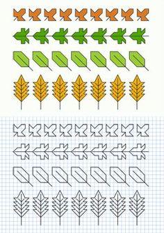 Cornicette con foglie