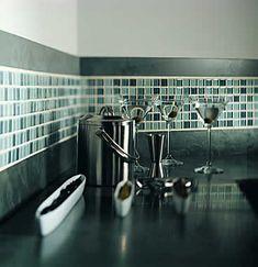 bathroom glass tile designs