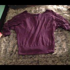 Purple American eagle sweater Short American eagle sweater. American Eagle Outfitters Sweaters Crew & Scoop Necks