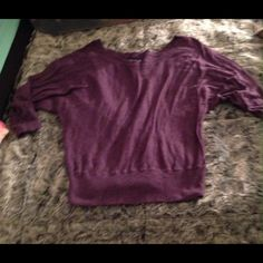 Purple American eagle sweater Short American eagle sweater. American Eagle Outfitters Sweaters Crew & Scoop Necks