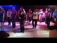 Double Shot of Crown / Bartender Line Dance - YouTube