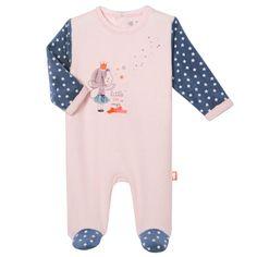 Boden unisexe bébé Super Doux rayée éponge Sleepsuit Babygrow Ange 3-6 M