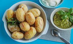 Slik lager du saltbakte poteter l EXTRA Pretzel Bites, Ethnic Recipes, Food, Essen, Meals, Yemek, Eten