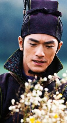 Takeshi Kaneshiro (Japanese and Chinese: 金城 武, born October 11, 1973) his father is Okinawan Japanese and his mother is Taiwanese.  Asian celebrity