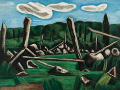 Whitney Museum of American Art: Marsden Hartley: The Old Bars, Dogtown