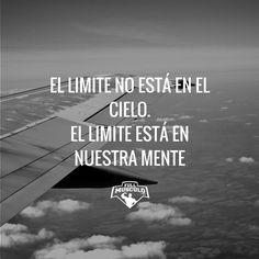 El limite te lo pones tu. #Fitness #inspiration #limit #sky