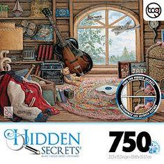 Casse-tête Puzzle Hidden Secrets de 750 pièces. 14.99$ Disponible en boutique ou sur notre catalogue en ligne. Livraison rapide au Québec.  Achetez-le info@laboiteasurprisesdenicolas.ca