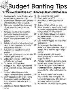 Beginner Banting Budget Challenge - under for 2 Weeks - 7 Days - 42 Meals Banting Diet, Banting Recipes, Lchf, Diet Recipes, Recipies, Healthy Recipes, Diet Meals, Medan, Banting Breakfast