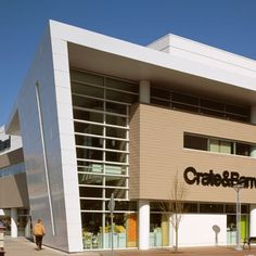 1000 images about contemporary modern storefront on for Crate and barrel arch