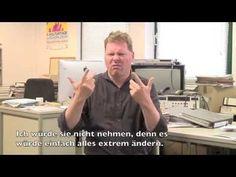Einblick in die Taube Welt - Gebärdensprache - YouTube