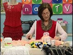 ▶ Blusa de Renda com Claudia Maria - YouTube