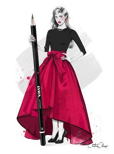 'The Fashion Illustrator' © Cristina Alonso (www.cristinalonso.com)