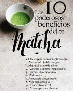 Los 10 beneficios principales que te entrega Matcha  Compras con envío a todo Chile en http://ift.tt/2jo8tPb  Compras al por mayor escribir a contacto@matchachile.com  ----------- #matcha #matchachile #matchadetox #propiedades #energía #antioxidantes #téVerde #chile #detox #propiedades