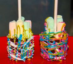 Hot Chocolate on a stick for easter how cute. Thank You Gifts, Hot Chocolate, Delish, Easter, Cake, Desserts, Food, Thank You Presents, Pie Cake
