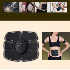 Smart Muscle Stimulator Ems Stimulation Body Slimming Beauty Machine Abdominal Muscle Exerciser Training Device Body Massager Relieving Heat And Sunstroke Skin Care