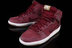 sports shoes 960fc 1561b NIKE SB DUNK HI TEAM RED FILBERT
