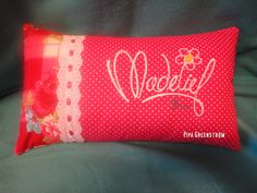 Madelief. Bed Pillows, Cushions, Sunglasses Case, Pillow Cases, Logo, Pipes, Hobby Craft, Pillows, Throw Pillows