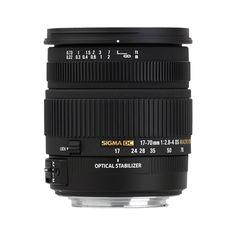 #Sigma 17-70mm F2.8-4 DC MACRO OS HSM #objektív, Nikon DSLR fényképezőgépekhez. A kategóriájában legjobb képminőség és legkisebb méret teszi lehetővé, hogy a legkülönbözőbb helyzetekben készítsen felvételt. Kiváló minőségű objektívek, melyekben a mindennapi használat során és különleges körülmények között is megbízhat.