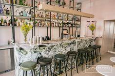 Bisou. cocktails bar - Paris - www.enplace.fr - Station cocktail - Mise en place - Agencement bar