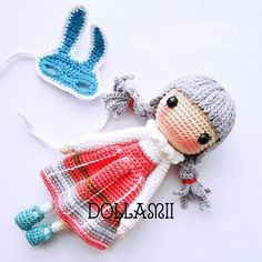 Kayla done by participant of my FB crochet activity, @dollamii . Amazing works and love it so much! ❤️❤️❤️