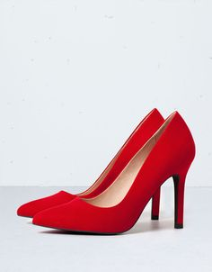 Beautiful red shade stilettos