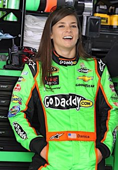 Danica Patrick - NASCAR driver and so much more . . .