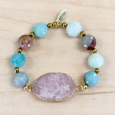 Aventurina Oro pulseras de minerales Gold Aventurine bracelets C