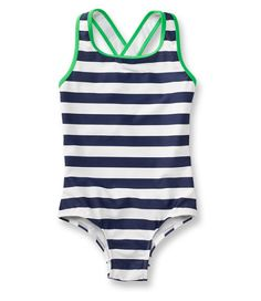 "Last one from L.L.Bean that fits our ""girl clothes without the girly"" style.  Can't go wrong with nautical stripes!  Sizes 4-18."