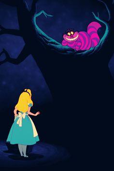 Alice & Cheshire Cat | #AliceinWonderland