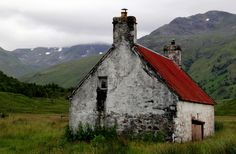 last-best-place:   Athnamulloch bothy by Iain Harris