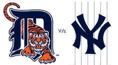 #Tigers vs #Yankees tonight at 8:07pm #baseball