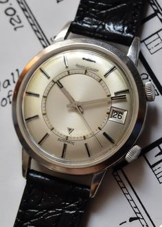 Latest Watches: Jaeger-LeCoultre Memovox for sale ref: rxr0303