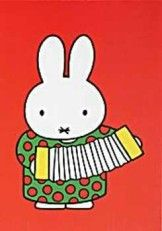 Miffy has attempted many instruments but isn't very good at any. Book Cover Design, Book Design, Life On The Moon, Dutch Rabbit, Elsa Beskow, Rabbit Life, Japanese Folklore, Miffy, All Things Cute