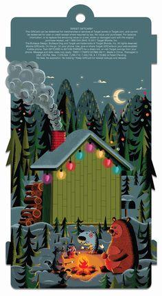Target gift card - Illustrator: Don Clark